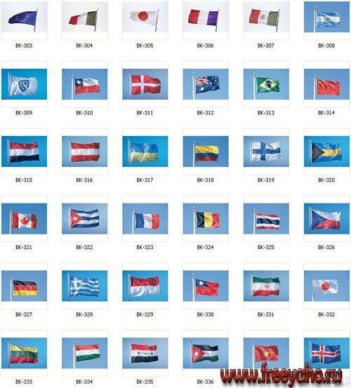 Flags флаги стран мира
