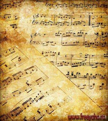 ... винтажные музыкальные текстуры | Music: freeyaho.ru/2382-roskoshnye-vintazhnye-muzykal-n.html