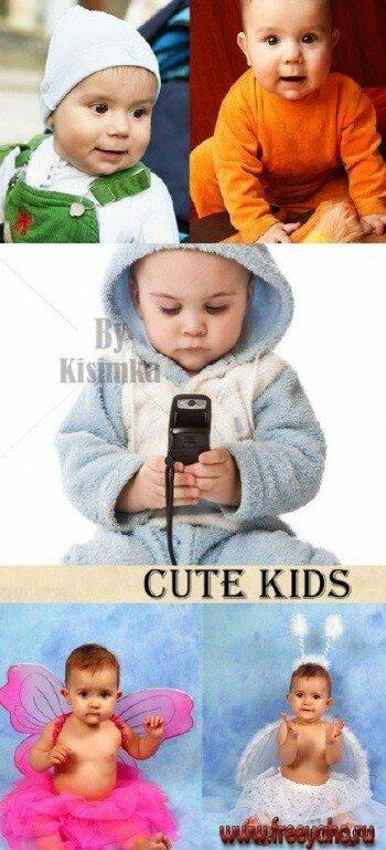 Обзор по ребенок. Stock Photo: Cute Kids (маленький ребенок).