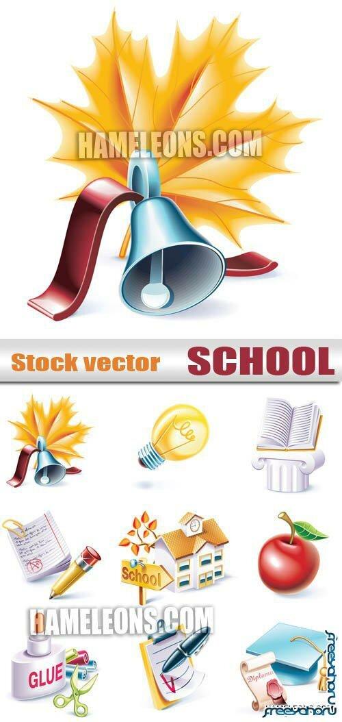 Векторные иконки на тему Школа | School ...: freeyaho.ru/9983-vektornye-ikonki-na-temu-shkola.html