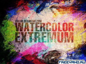 Water Color Extremum Brushes