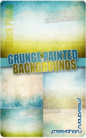 Grunge Painted Backgrounds - UHQ Stock Photo