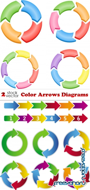 Vectors - Color Arrows Diagrams