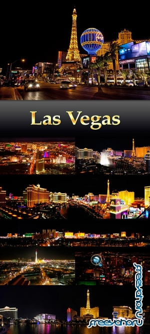 Stock images Las Vegas night