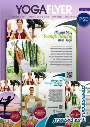 Yoga Flyer Bundle part 2