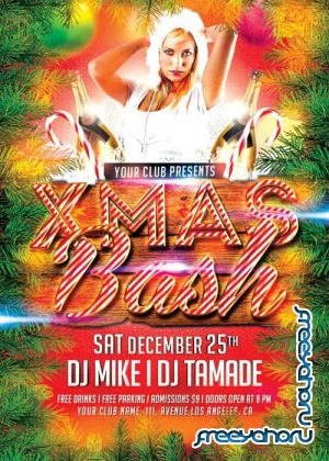 Xmas Bash V121 Flyer Template