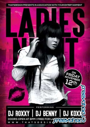 Ladies Night V28 Flyer Template