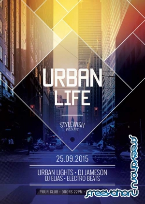 Urban Life V35 Flyer Template