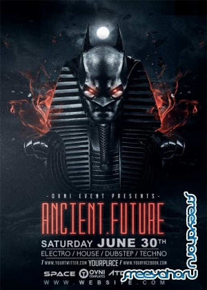 Ancient Future V15 Flyer Template