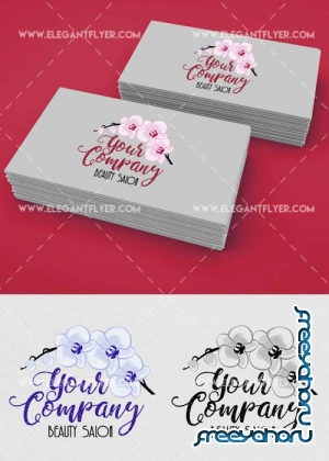 Beauty Salon Logotype V1 Premium Logo Template