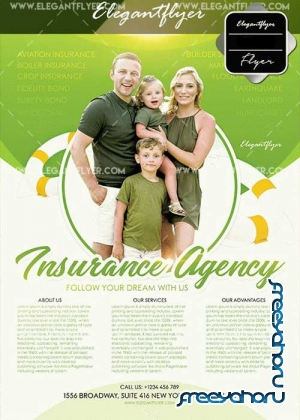 Insurance Agency Flyer V17 Template