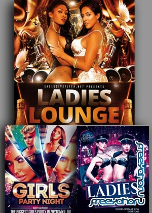 Ladies Night 3in1 V16 Flyer Template