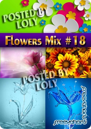 Flowers Mix #18 - Stock Photo