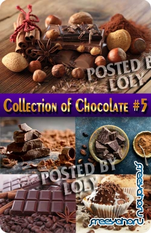 Food. Mega Collection. Chocolate #5 - Stock Photo