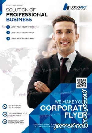 Corporate V4 2018 PSD Flyer Template