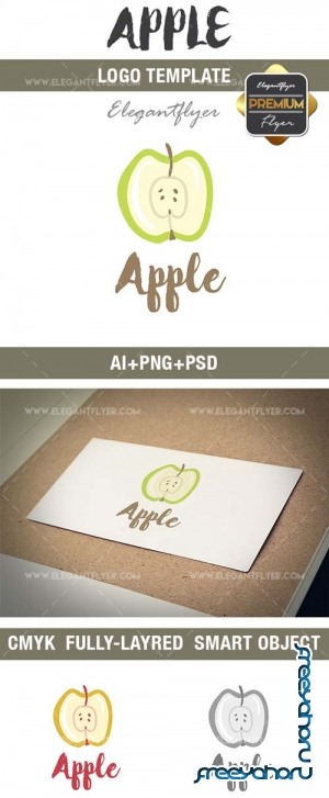 Apple V1 2018 Premium Logo Template
