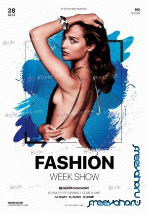 Fashion V9 2018 PSD Flyer Template