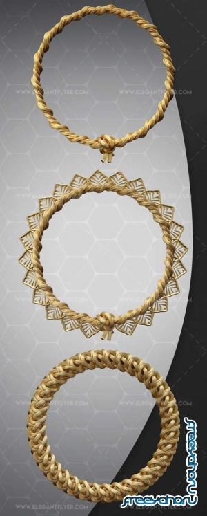 Rope Ring V1 2018 3d Render Templates