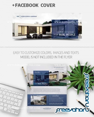 Real Estate V20 2018 Flyer PSD Template