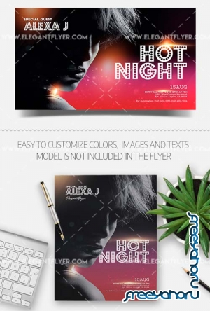 Artist Event V16 2018 Flyer PSD Template