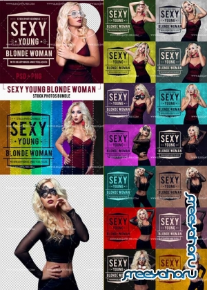 Stock Photos V3 2018 Bundle of Sexy Young Blonde Woman