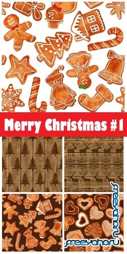 Merry Christmas 2018 #1 - Stock Vector