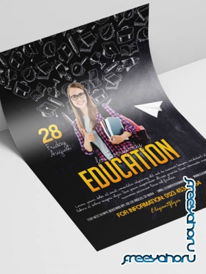 Education for Everybody V2908 2019 PSD Flyer Template