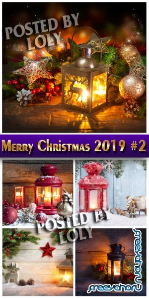 Merry Christmas 2019 #2 - Stock Photo