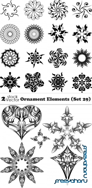 Vectors - Ornament Elements (Set 29)