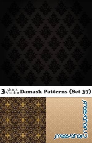 Vectors - Damask Patterns (Set 37)