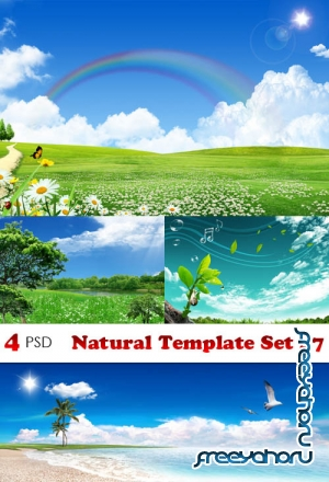 PSD - Natural Template Set 47