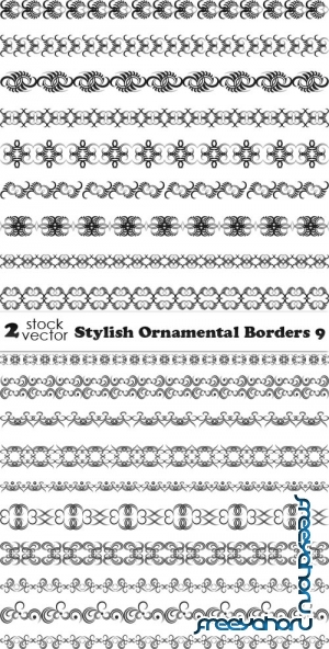 Vectors - Stylish Ornamental Borders 9