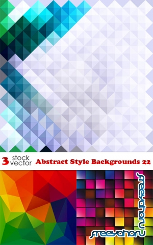 Vectors - Abstract Style Backgrounds 22