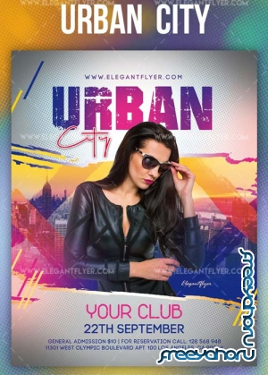Urban City V1 2019 Flyer PSD Template