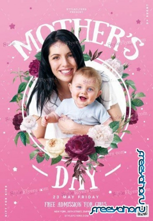 Mothers Day V11 2019 PSD Flyer Template