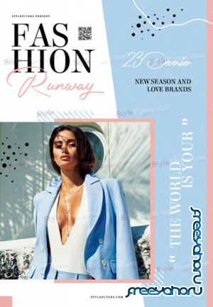 Fashion Runway V1711 2019 PSD Flyer Template